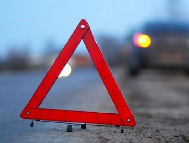 54-летняя автомобилистка погибла в перевернутом Daewoo Matiz в Воронежской области