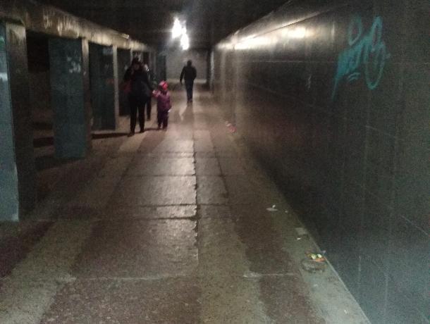 Чудовищное состояние отремонтированного перехода у Политеха показали в Воронеже