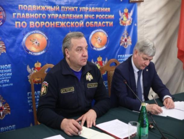 ВВоронежской области затопило 22 моста