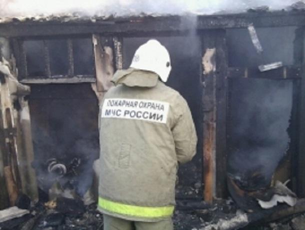 Вмасштабном ночном пожаре под Воронежем огнем уничтожено 20 строений