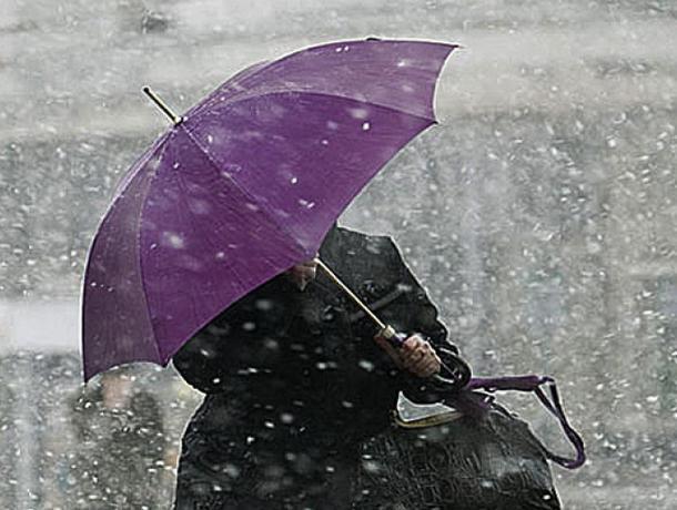 Дождь, гололед и плюсовая температура накроют Воронеж на выходных