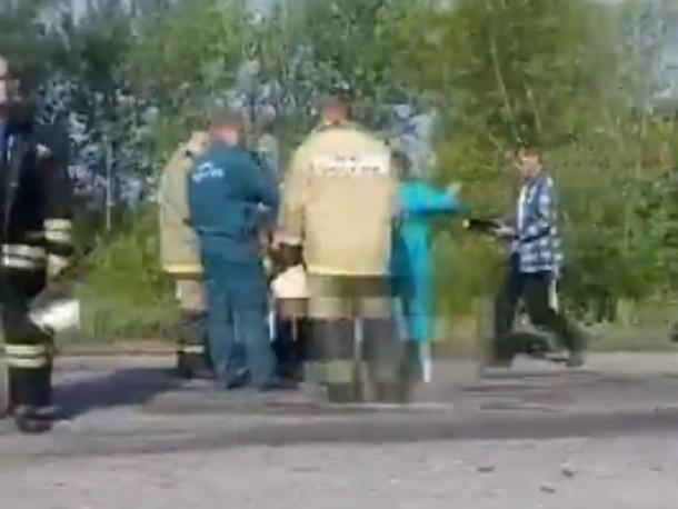 Опубликовано шокирующее видео ДТП с 4 погибшими под Воронежем