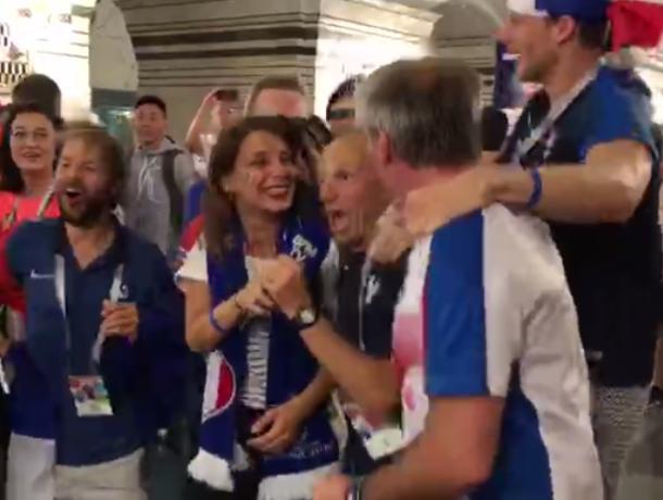 Воронежец снял на видео французское безумие после финала ЧМ-2018