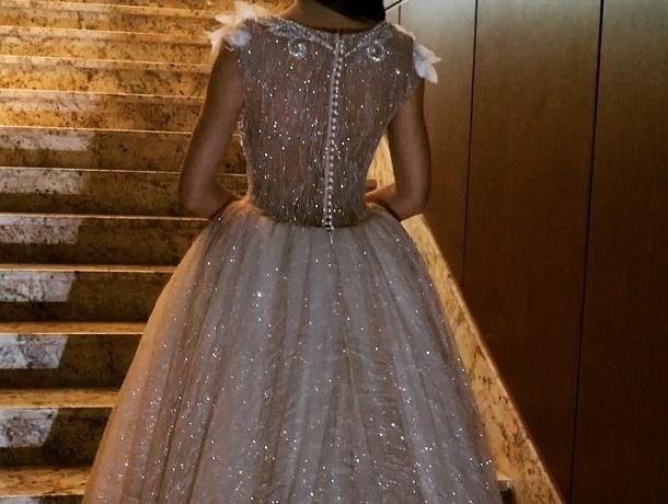 Воронежцы влюбились в платье настоящей принцессы