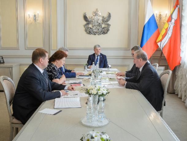 Гусев поручил заявить Воронежскую область в 8 федеральных проектов