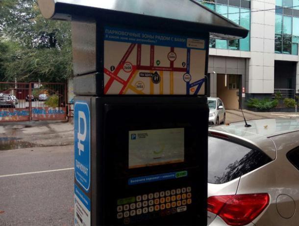 90% платных парковок пустуют в Воронеже