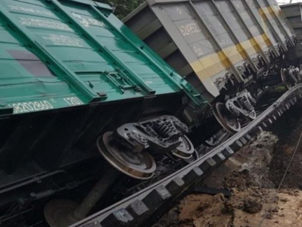 ЧПвРоссоши: срельсов вВоронежской области сошёл вагон поезда