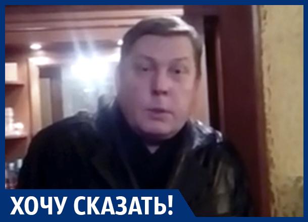 Из-за нечищеного двора я еле добираюсь домой, - воронежец Олег Дойников