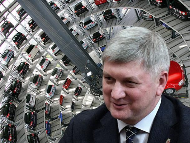 Гусев обещал дешевые многоуровневые паркинги до введения платных парковок в Воронеже