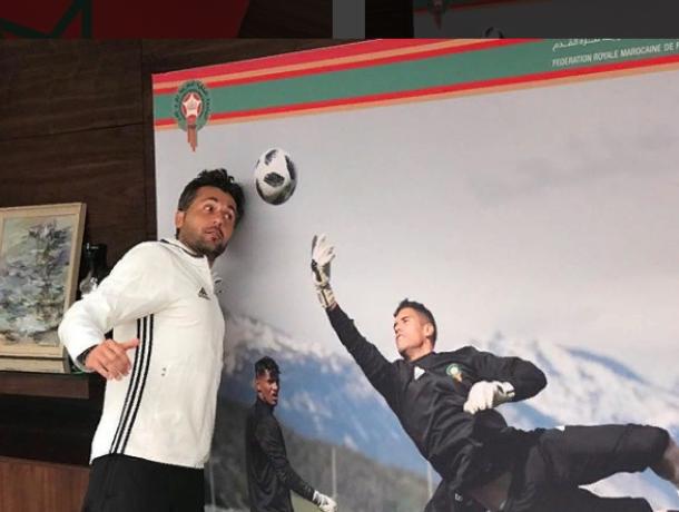 Марокканские футболисты показали, как развлекаются в воронежском отеле