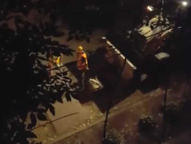 Воронежцев возмутил шум от ночных ремонтных работ дороги