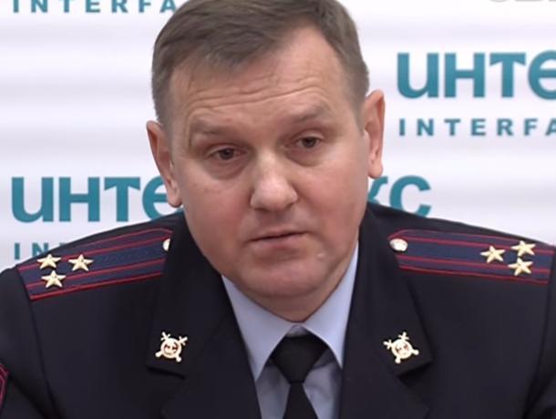Глава УМВД Воронежа Владимир Котов ушёл наповышение