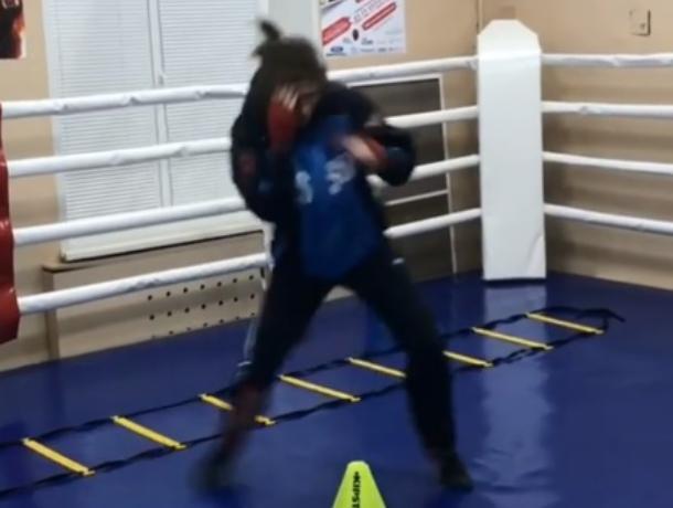 Воронежская «Черная пантера» показала ураганную скорость боксерских ударов