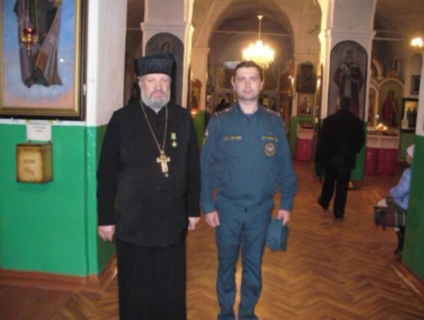 Воронежские cотрудники экстренных служб проверили 198 храмов ицерквей накануне Пасхи