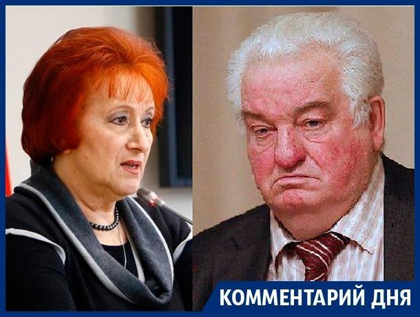 Галина Кудрявцева защитила губернатора Гусева от экс-депутата Госдумы