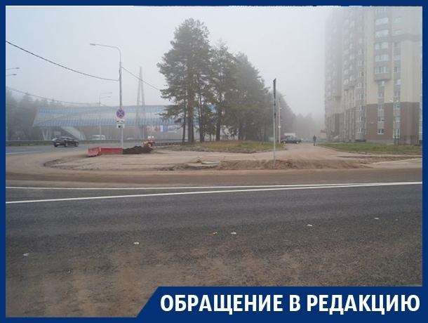 Построенный Гордеевым ЖК отрезали от жизненноважной дороги в Воронеже