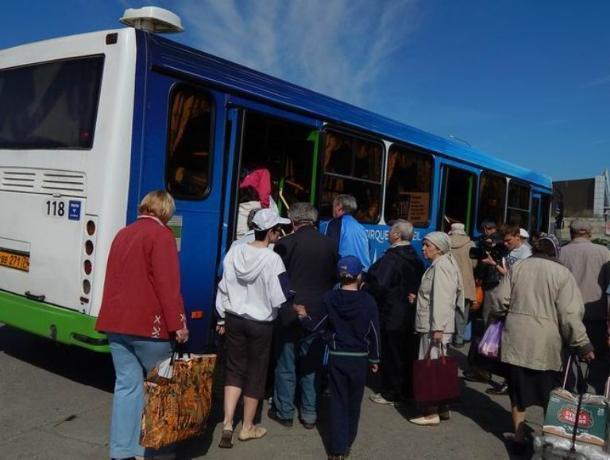 Воронежцы жалуются наработу сезонных автобусных маршрутов