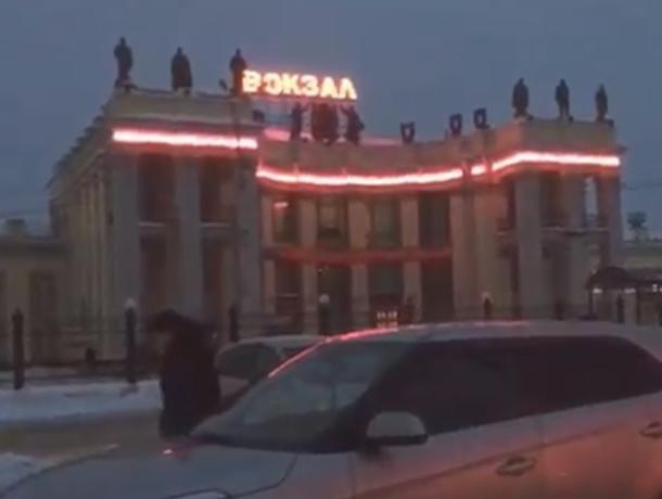 Воронежцам показали на видео, за что стыдно перед гостями города