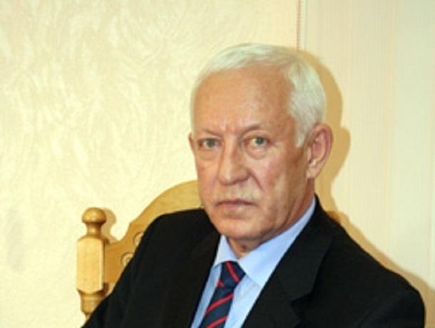 Скончался почетный председатель воронежского областного Союза строителей Вячеслав Бутырин