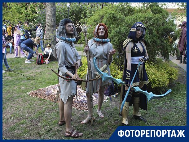 Грандиозное шествие персонажей компьютерных игр и аниме сняли в центре Воронежа