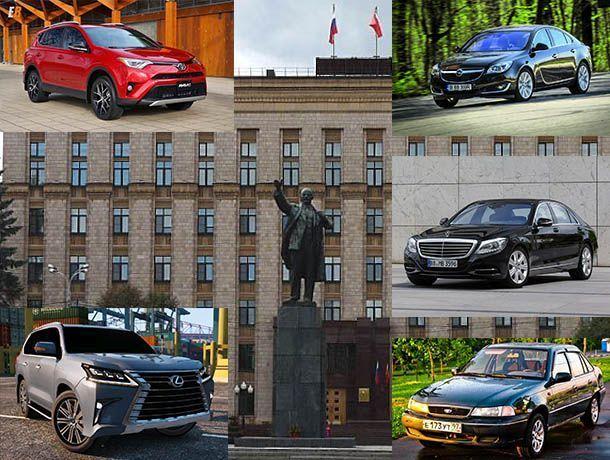 На чем ездят кандидаты в губернаторы Воронежской области