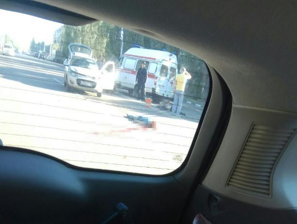 Воронежец опубликовал жуткое фото последствий ДТП с пешеходами