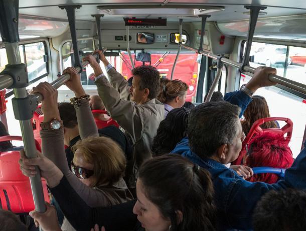 Начетырех воронежских маршрутах увеличат количество автобусов