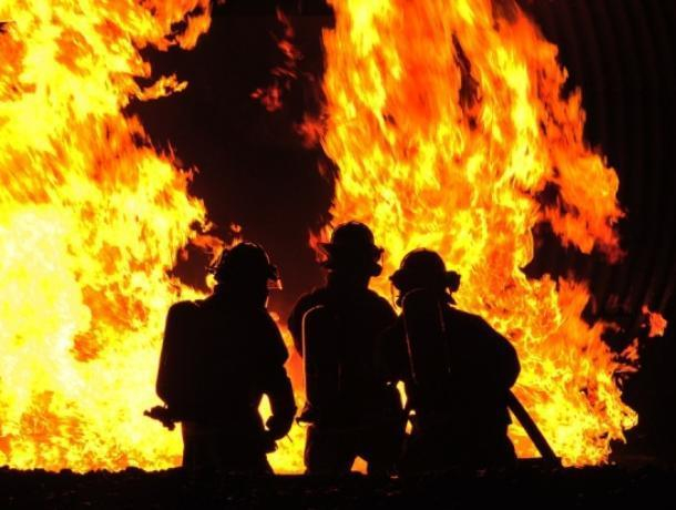 Мать с сыном погибли при пожаре в Воронежской области