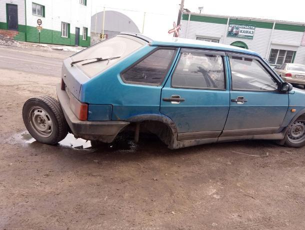 Воронежцы попросили Путина спасти дороги в Лисках