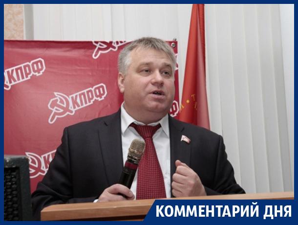 Русские мужики первыми попадают под нож дьявольского закона, - воронежский депутат