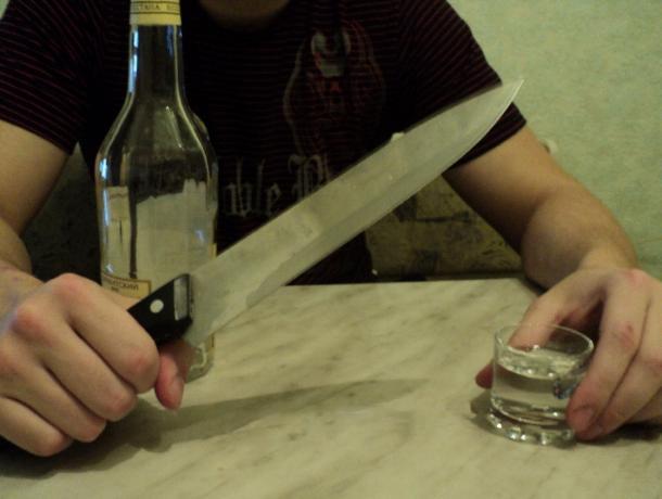 Воронежец зарезал заступившегося заженщину приятеля