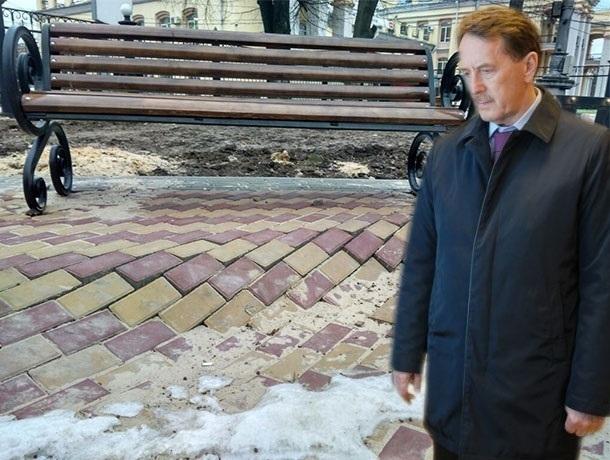 После ухода Алексея Гордеева в Воронеже так и не заделали «архитектурный бандитизм»