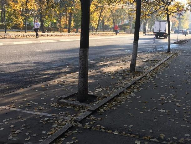 Воронежцы массово игнорируют платные парковки в центре города