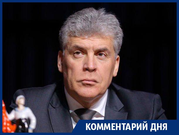 От усов Грудинина зависит будущее КПРФ – эксперт Воронежского клуба политологов