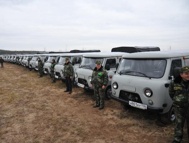 Лесопожарный центр вВоронеже получил новейшую технику на50 млн руб.