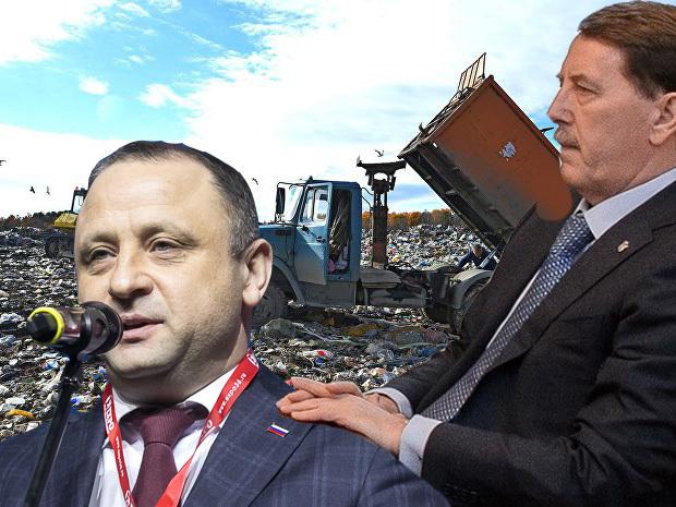 Гордеев привлёк Шабалатова к федеральной куче мусора