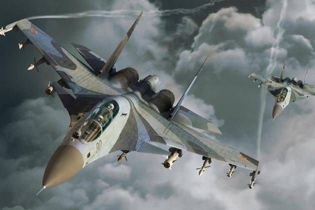 Вконце рабочей недели над Воронежем пролетят самолеты Воздушно-космических сил РФ