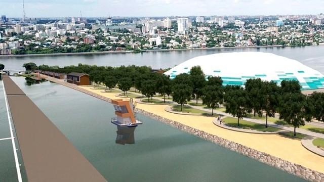 Центр гребли на байдарках и каноэ построит «Воронежстройреконструкция»