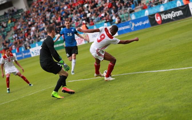 Воронежский гость из сборной Марокко пострадал ещё в Таллине
