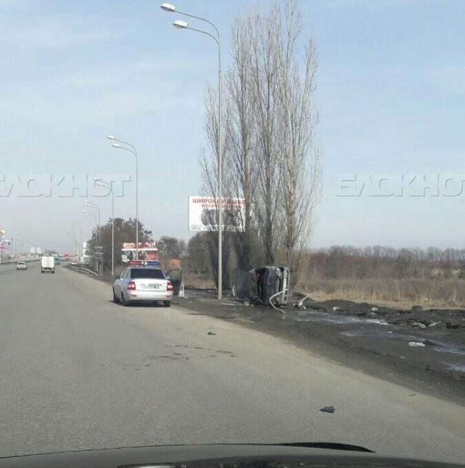 Под Воронежем опрокинулся ВАЗ: шофёр скончался в клинике