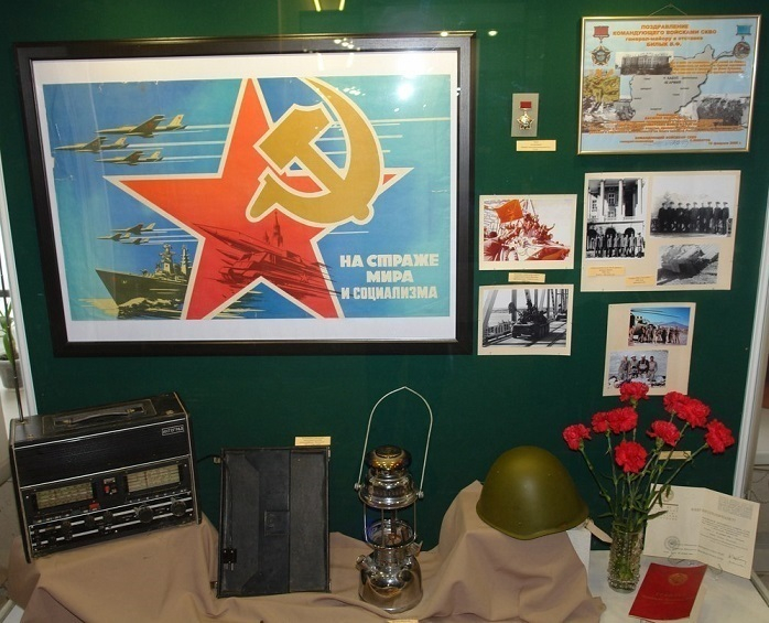 В Воронеже открывается выставка, посвященная Афганской войне