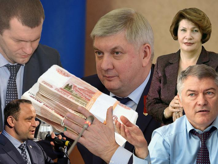 Воронежский губернатор массово премировал своих за встречу Гордеева и не только