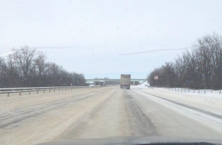 Автомобилистов предупредили об ужасных условиях по дороге из Воронежа в Москву