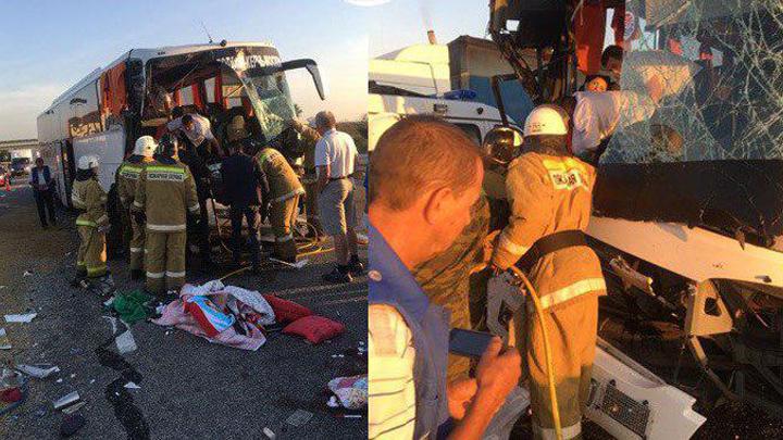 Водитель отвлекся то ли на телефон, то ли курил, - пассажиры разбившегося автобуса «Москва-Симферополь»