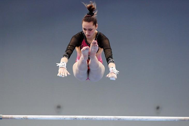 Фанаты не узнали раскачавшуюся воронежскую гимнастку Комову