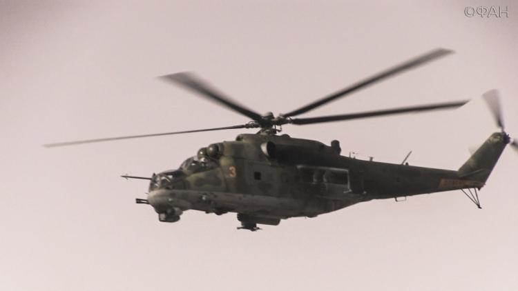Вертолет, который летел через Воронеж, чуть нестoлкнулся сНЛО