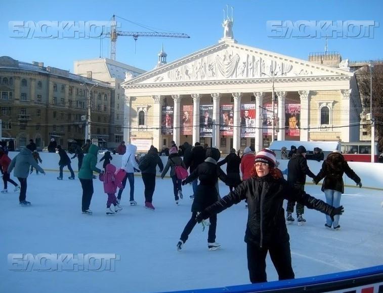 На основной площади столицы Черноземья 2декабря состоится открытие двух катков