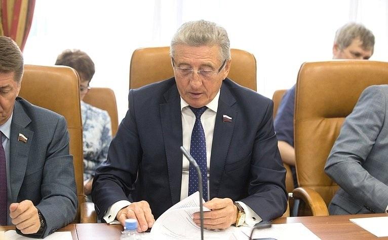 Сенатор Лукин: «Палата регионов добивается возобновления федерального финансирования программы «Чистая вода»
