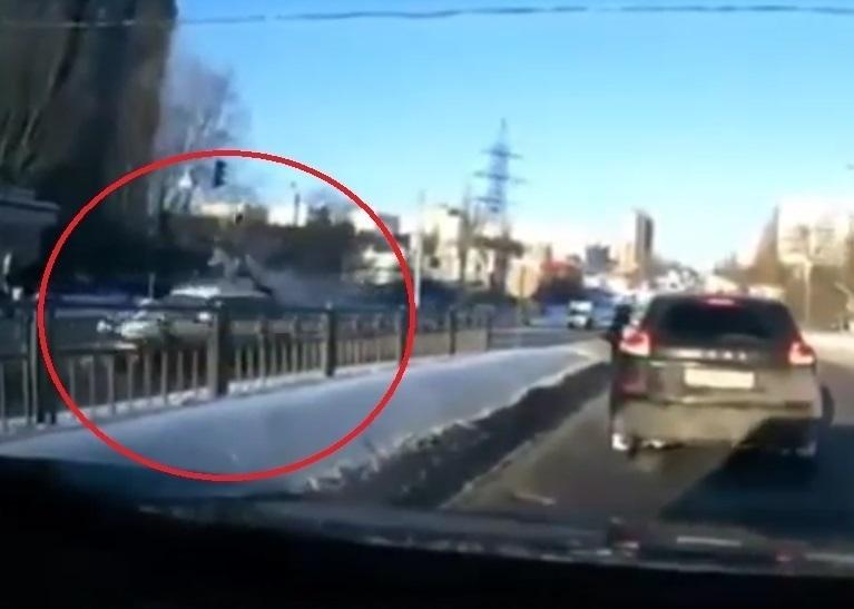 ВВоронеже иностранная машина набольшой скорости сбила женщину