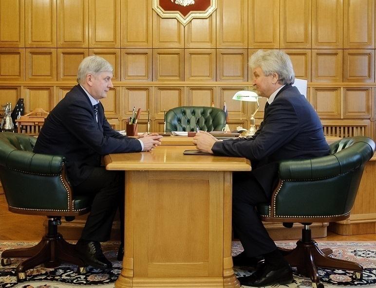 Александр Гусев и Владимир Ходырев затронули тему назначения главы Воронежа